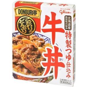 江崎グリコ DONBURI亭 牛丼 160g  レトルト (4901005246003)|atlife