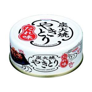 宝幸 やきとり たれ味 缶詰 80g (4902431020021)|atlife