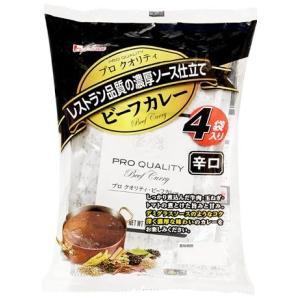 ハウス食品 プロクオリティ ビーフカレー辛口 4袋入 (4902402868331)|atlife