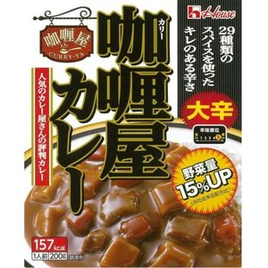 ハウス食品 カリー屋カレー 大辛 200g  (4902402573242)|atlife