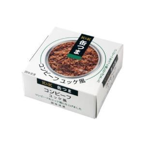 缶つま K&K コンビーフ ユッケ風 缶詰 (4901592905505)|atlife