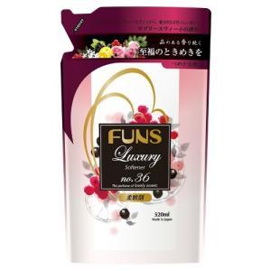 第一石鹸 ファンス ラグジュアリー No..36柔軟剤 詰替 520ml×2個セット【po】|atlife