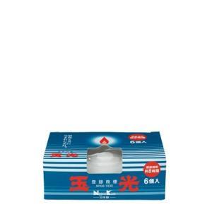 日本香堂 玉光ローソク コップローソク 6個入 日本製×2個セット【po】|atlife