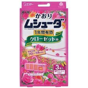 JAN:4901070302802  日用品/虫よけ・殺虫剤・忌避/防虫剤  かおりムシューダ 1年...