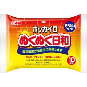 興和 ホッカイロ ぬくぬく日和 貼らない レギュラー 10個入り(4987067829200)×10...