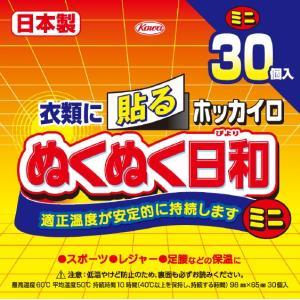 興和 ホッカイロ ぬくぬく日和 貼る ミニ 30個 (4987067830008)×10点セット 【...