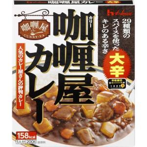 ハウス食品 カリー屋カレー 大辛 200g ×10個セット (4902402573242) 【まとめ買い特価!】|atlife