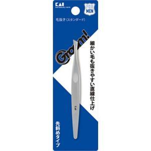 商品名:HC3043 Groom 毛抜き ( スタンダード ) 内容量:1個 ブランド:HC 原産国...