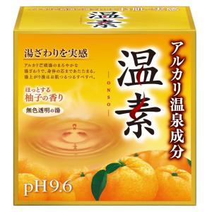 JAN:4901080553911  温素 柚子の香り 30g×15包(入浴剤)  ブランド:温素 ...