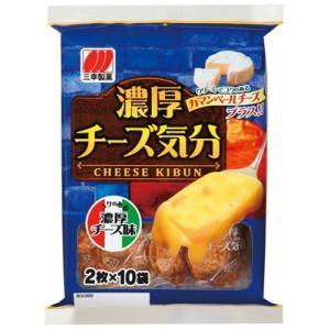 三幸製菓 濃厚チーズ気分 20枚×12個セット  (食品・お菓子・せんべい)|atlife