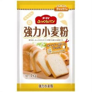 オーマイ ふっくらパン 強力小麦粉×12個セット|atlife
