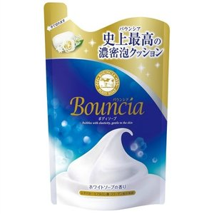 【送料無料・まとめ買い×16個セット】牛乳石鹸 バウンシアボディソープ 詰替用 400mL 1個|atlife