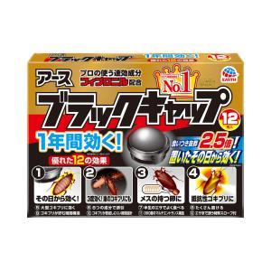 アース製薬 ブラックキャップ 12個入り×18点セット(計216コ) 医薬部外品(4901080206213)