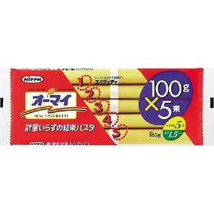 オーマイ 結束スパゲッティ 1.5mm 500G×20個セット|atlife