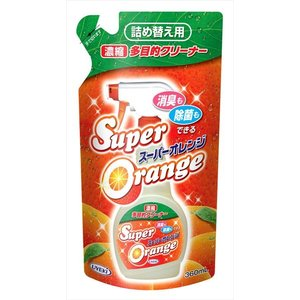 UYEKI スーパーオレンジ 消臭除菌 詰替 360ML 消臭も除菌もできる多目的洗剤×24点セット まとめ買い特価!(4968