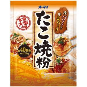 日本製粉 オーマイ  たこ焼き粉 200g ×30個セット 【まとめ買い特価!】|atlife