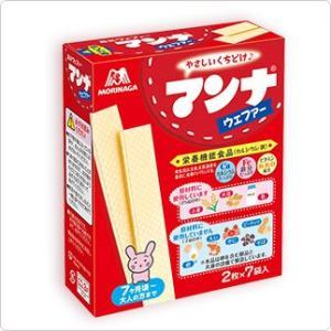 森永製菓 マンナウェファー 14枚×72個セット (お菓子・食品・ウエハース)|atlife