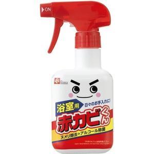 レック 赤カビくん 浴室除菌スプレー320ml 1個|atlife