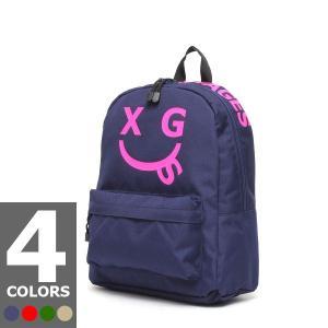 エックスガール X-GIRL ステージス スマイリーバックパックM(4色展開)|atmos-tokyo