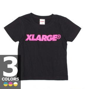 エックスガール X-GIRL ステージス スタンダードロゴT(3色展開)キッズ|atmos-tokyo