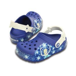 クロックス crocs サンダル クロックスライツ フローズン キッズ(BLUE)16SS-I|atmos-tokyo