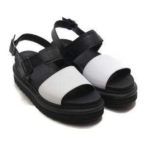 ドクターマーチン Dr.Martens サンダル ボス ストラップ サンダル (Black/White Hydro Leather) 19SS-I|atmos-tokyo