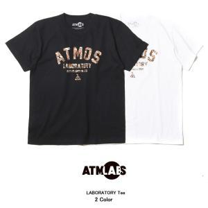 アトモス ラボ ATMOS LAB ラボラトリー Tシャツ(...