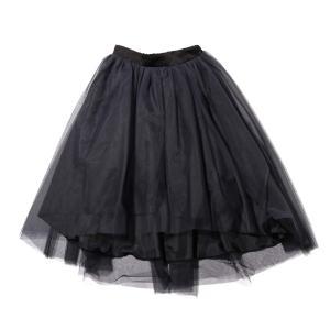 アトモスピンク atmos pink スカート オーガンジーボリュームスカート (BLACK) 19FA-I|atmos-tokyo