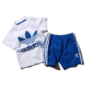 アディダス オリジナルス adidas インファント ショート Tシャツ セット (White) 18SS-I|atmos-tokyo