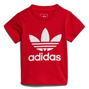 アディダス オリジナルス adidas インファント トレフォイル Tシャツ (Scarlet) 18SS-S|atmos-tokyo