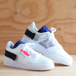ナイキ NIKE スニーカー AF1 タイプ (SUMMIT WHITE/RED ORBIT-WHITE-BLACK) 19FA-S