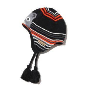 コロンビア Columbia ハット ユース ウィンター ウォーン ペルビアン (Black Critter) 17FA-I|atmos-tokyo