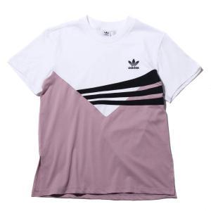 アディダス adidas 半袖Tシャツ オリジナルス レギュラー ティ (ソフトビジョンF10/ホワイト/ブラック) 18FW-I|atmos-tokyo