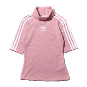 アディダス adidas レディースTシャツ グリッターティー (PINK SPIRIT) 19FW-I|atmos-tokyo
