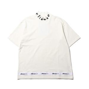 エレッセ ellesse 半袖Tシャツ ハイネック ティー (SNOW WHITE) 19FW-I|atmos-tokyo