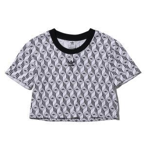 アディダス adidas 半袖Tシャツ クロップ ティー (BLACK/WHITE) 20SS-I|atmos-tokyo