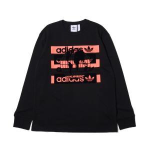 アディダス adidas 長袖Tシャツ グラフィック ロングスリーブ Tシャツ (BLACK) 20SS-I|atmos-tokyo