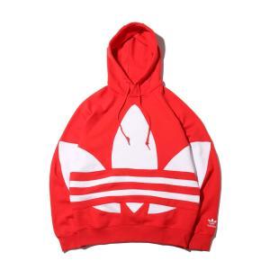 アディダス adidas パーカー ビッグ トレフォイル フーディー (LUSH RED) 20SS-I|atmos-tokyo
