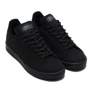 アディダス adidas スニーカー スタンスミス (CORE BLACK/CORE BLACK/TRACE GREEN) 20SS-S|atmos-tokyo