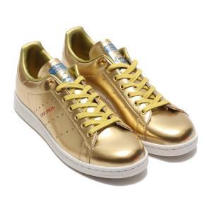 アディダス adidas スニーカー スタンスミス (GOLD METRIC/GOLD METRIC/CRYSTAL WHITE) 20SS-I|atmos-tokyo