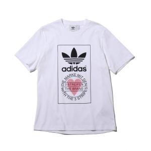 アディダス adidas 半袖Tシャツ ユニセックス ティーシャツ (WHITE) 20SS-S|atmos-tokyo