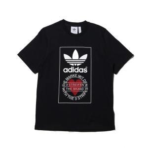 アディダス adidas 半袖Tシャツ ユニセックス ティーシャツ (BLACK) 20SS-S|atmos-tokyo