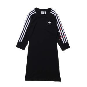 アディダス adidas ワンピース 3ストライプ ドレス (BLACK) 20SS-S|atmos-tokyo