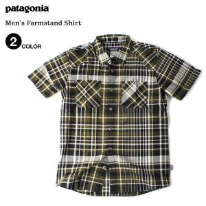 パタゴニア Patagonia メンズ ファームスタンド シャツ(2色展開)|atmos-tokyo