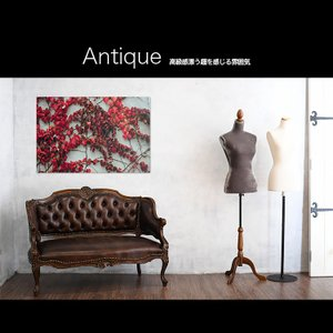 【日本製】アートボード/アートパネル artmart アートマート 絵画や写真をアルミフレームで表現するインテリアコーディネイト(90p-aa0002-red-sa) atmys