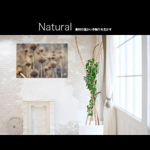 【日本製】アートボード/アートパネル artmart アートマート 絵画や写真をアルミフレームで表現するインテリアコーディネイト(90p-aa0008-brn-sa) atmys