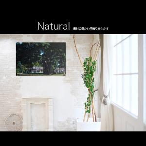 【日本製】アートボード/アートパネル artmart アートマート 絵画や写真をアルミフレームで表現するインテリアコーディネイト(90p-aa0016-grn-sa) atmys