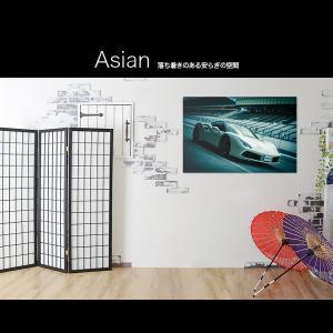 フェラーリ 488 GTB スパイダー カスタム【日本製】アートボード/アートパネル artmart アートマート 絵画や写真をアルミフレームで表現(90p-fa0001-grn-sa)|atmys|03