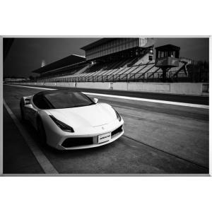 フェラーリ 488 GTB スパイダー カスタム【日本製】アートボード/アートパネル artmart アートマート 絵画や写真をアルミフレームで表現(90p-fa0005-gry-sa) atmys 06