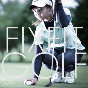ゴルフで飛ばす!ドライバー アイアンの飛距離を伸ばす加圧インナー!プロが認めたコンプレッションインナー レディース FIXFIT【ACW-X02 SPRINT】(20fi-004)|atmys